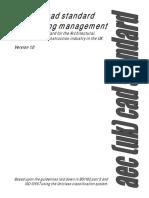 AEC(UK)CADStandardsForDrawingManagement v1.0
