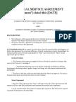 General Service Agreement Sample