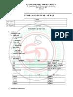 Form Hasil Mcu Paket i