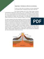 Efectos de Las Erupciones Volcánicas Sobre Un Ecosistema.