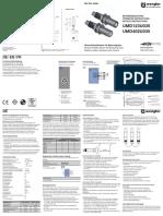 Operating Instructions UMD123U035