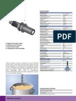 Wenglor Ultrasonic Data Sheet UMD123U035