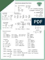 Formulario Quimica Aplicada