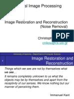 Image Restoration (Noise Removal)