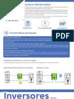 Caracteristicas Inversor Hibreido Hyvsol