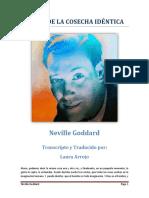La Ley de La Cosecha Identica - Neville Goddard