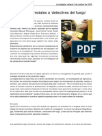 De Agentes Forestales a 'Detectives Del Fuego'