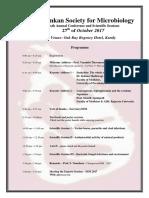 SSM Conference Programme - 2017