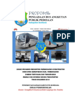 Proposal Bantuan Bus