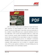 Recruitment Process in ACC CEMENT