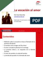 Vocación Al Amor - César Bravo