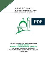 Contoh Proposal Peringatan Maulid Nabi Muhammad SAW