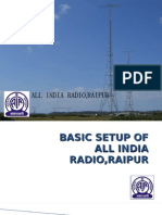 Basic setup of all india radio