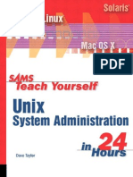 Teach Yourself Unix System Administration in 24 Hours