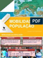 Mobilidade da população.ppt