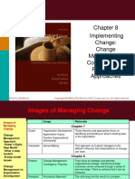 Ch08 Managing Organizational Change