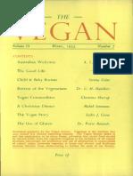 The Vegan - Winter 1955