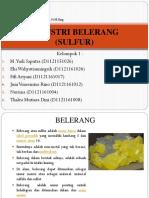 122052_industri Belerang Atau Sulfur
