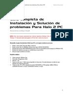SrDu001 - Guía de Instalación y Solución de Problemas Para Halo 2 PC [21!08!2016]