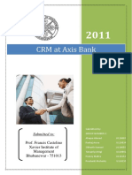 Group 2_CRM Implementation_AXIS Bank