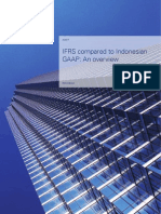 IFRS compared to Indonesian  GAAP