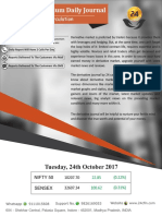 Derivative Premium Daily Journal-24th Oct 2017, Tuesday