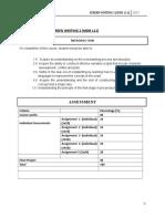 Assignment Brief Mdb111 2017