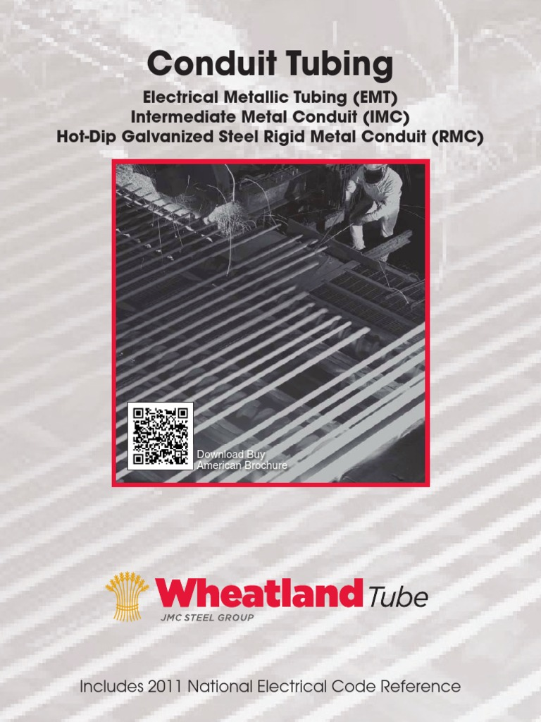 Nec Brochure Pipe Fluid Conveyance Corrosion Emt Electrical Metal Tubing Conduit Galvanized Steel