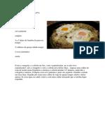 Tortilha Sem Batata