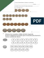 Evaluación de Matemática Sistema Monetario