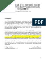 Cómo Llegar a Un Acuerdo Sobre Un Proyecto de Investigación de Marketing