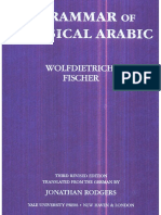 Fischer, A Grammar of Classical Arabic