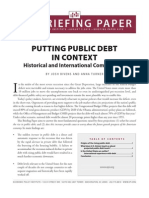 Putting Public Debt in Context