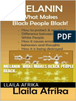 Melanin What Makes Black People Black