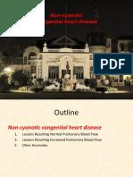 Non-Cyanotic Congenital Heart Disease-UpDate 4-22-53