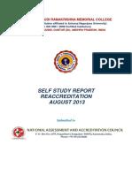 SVRMC-Self study report