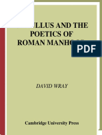 [David Wray] Catullus and the Poetics of Roman Man