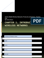 Chapter 1. Introduction to Wireless Networks