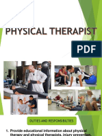 Physical Theraphist