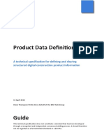 Product Data Definition