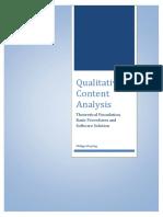Mayring(2014) Qualitative Content Analysis