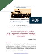 Economía social y solidaria y conflicto social. Consideraciones sobre las formas de gobierno de la fuerza de trabajo en el umbral de nuevos cambios socio-técnicos