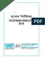NTPC Telephone Directory - 2016.pdf