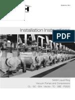 Manual Installation Instructions Bulletin 642-j