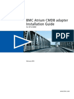 BMC Atrium CMDB Adapter for HP UCMDB Installation Guide