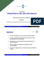 t2 Presupuesto Sector Publico