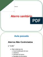 AULA 3 - Aterro Sanitário