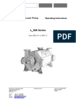 Liquid-Ring Vacuum Pump L-900 Series