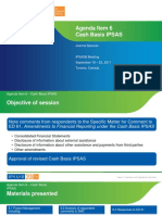 Agenda Item 6 Cash Basis IPSAS