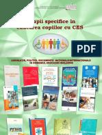 Terapii specifice în educarea copiilor cu CES [Resursă elctronică]
